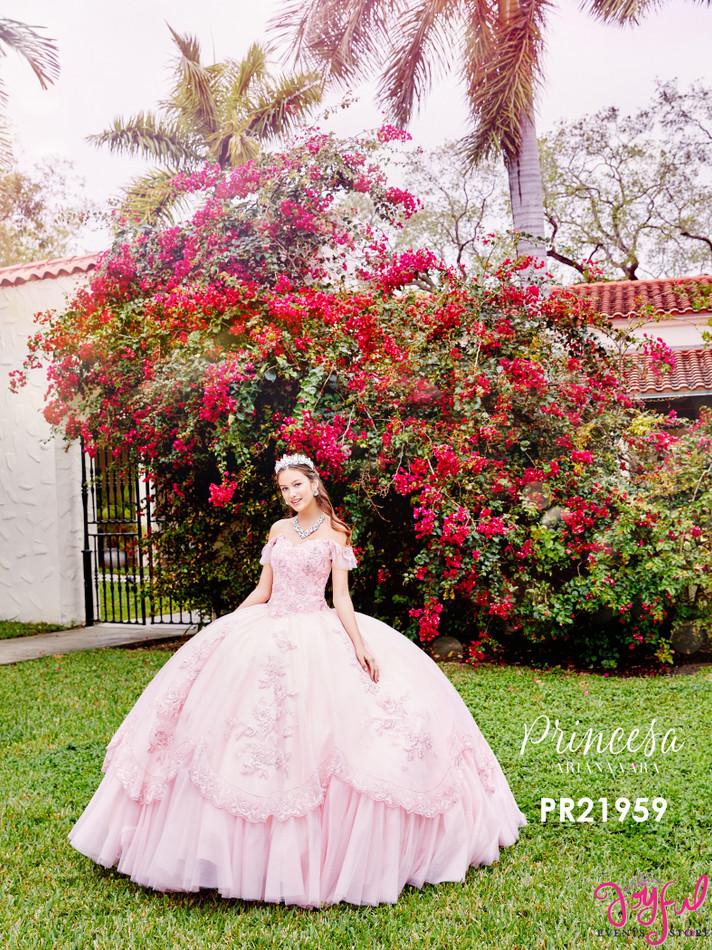 Pink Quinceanera Dress #PR21959PK