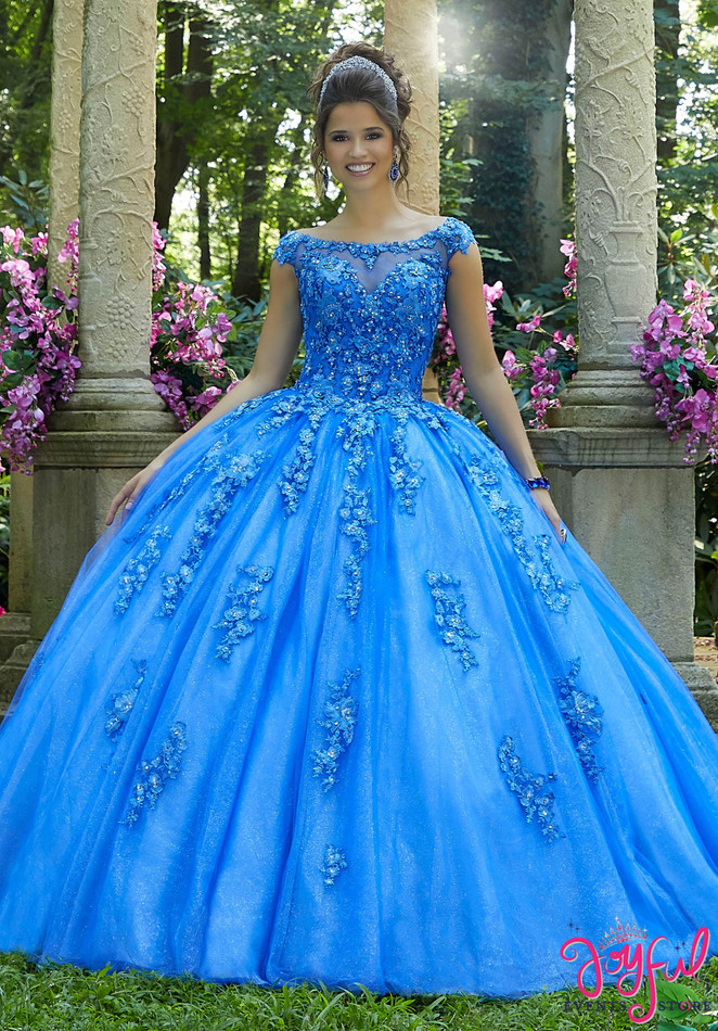 Crystal Beaded Tulle Quinceañera Ballgown #89269