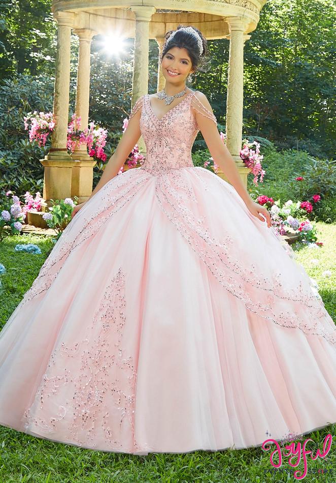 Princess Tulle Quinceañera Ballgown #89274