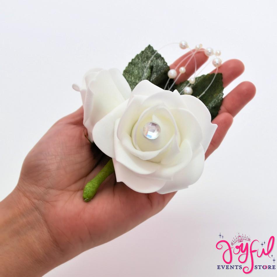 Flower Corsage Boutonnier (12 min) #CRSG19