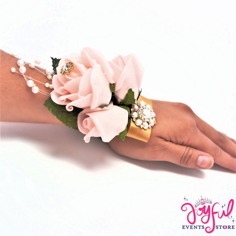 Flower Hand Corsage (6 min) #CRSG6HD