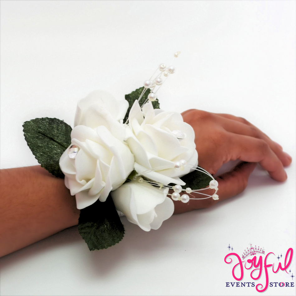 Paste Flower Hand Corsage (6 min) #CRSG4HD