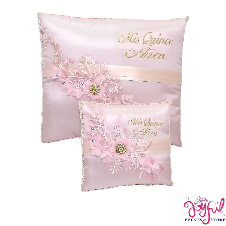 Pink Quinceanera Pillows  - Two Pillows #PLW180