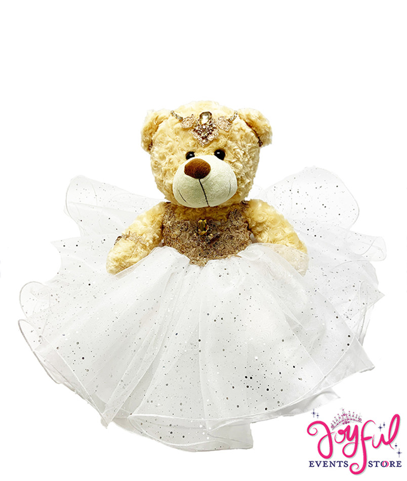 """17"""" Quinceanera Teddy Bear #QBR3WH"""