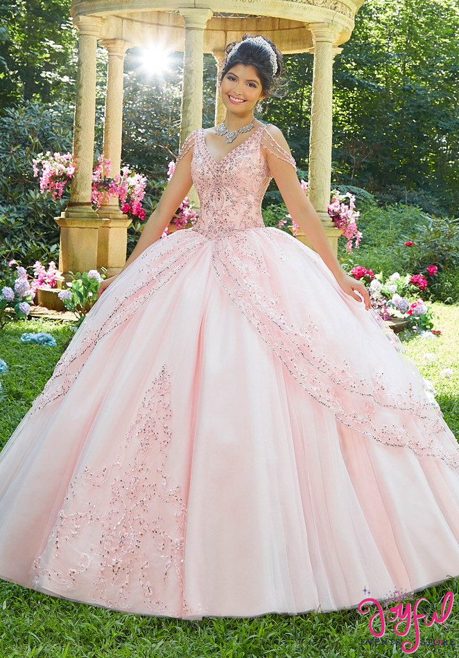 Blush Princess Tulle Quinceañera Ballgown #89274R