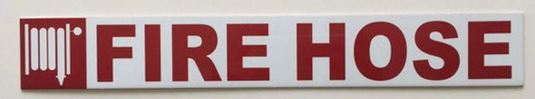 SIGNS FIRE HOSE SIGN (ALUMINUM SIGNS 2X14)