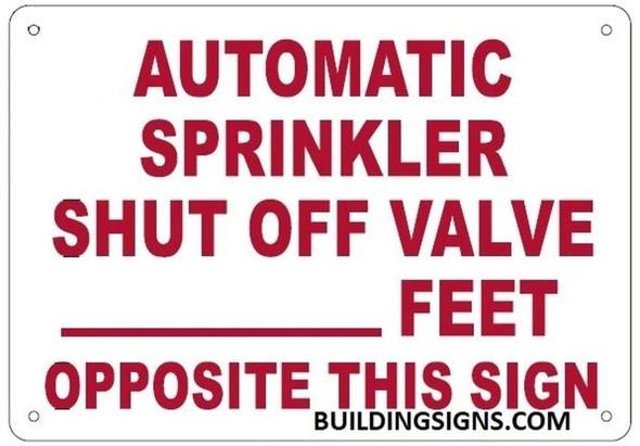 AUTOMATIC SPRINKLER SHUT OFF VALVE _