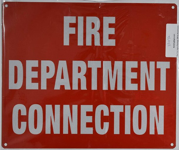 COMBINATION AUTO SPRINKLER AND STANDPIPE SIGN