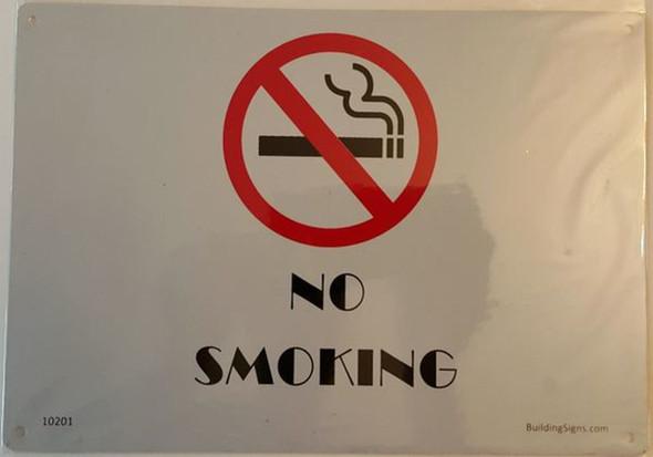 SIGNS No Smoking (Aluminum Sign) (ALUMINUM SIGNS
