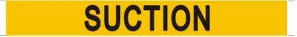 SUCTION SIGN (STICKER 1x8) YELLOW-(ref062020)