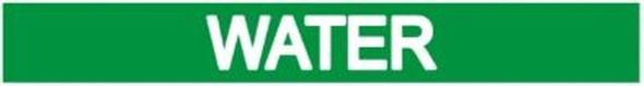 WATER SIGN (STICKER 1X8) (GREEN)-(ref062020)