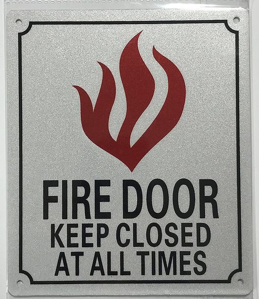 SIGNS FIRE Door Keep Closed Sign -Reflective
