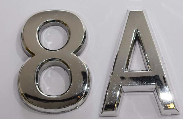 SIGNS Apartment Number 8A Sign/Mailbox Number Sign,