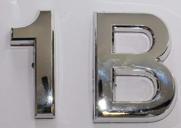 SIGNS Apartment Number 1B Sign/Mailbox Number Sign,