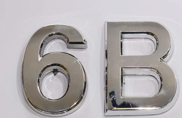 SIGNS Apartment Number 6B Sign/Mailbox Number Sign,