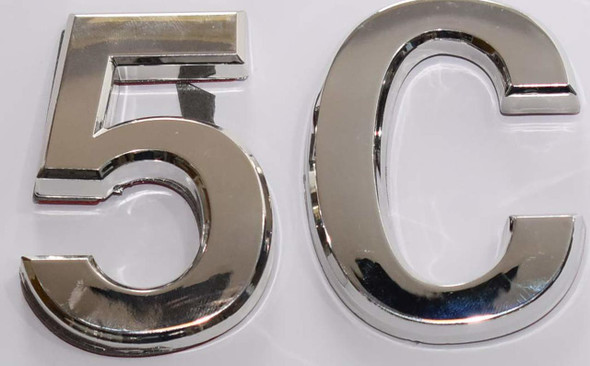 Apartment Number 5C Sign/Mailbox Number Sign,