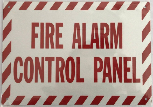 SIGNS FIRE Alarm Control Panel Sign -