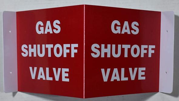 Gas Shut Off Valve 3D Projection