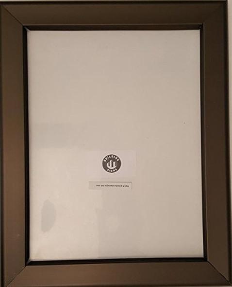 Brown Snap Frame 8.5x11 HEAVY DUTY-(ref062020)