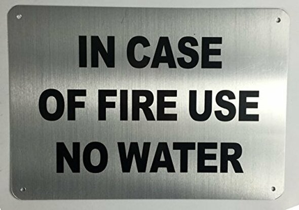 in CASE of FIRE - USE