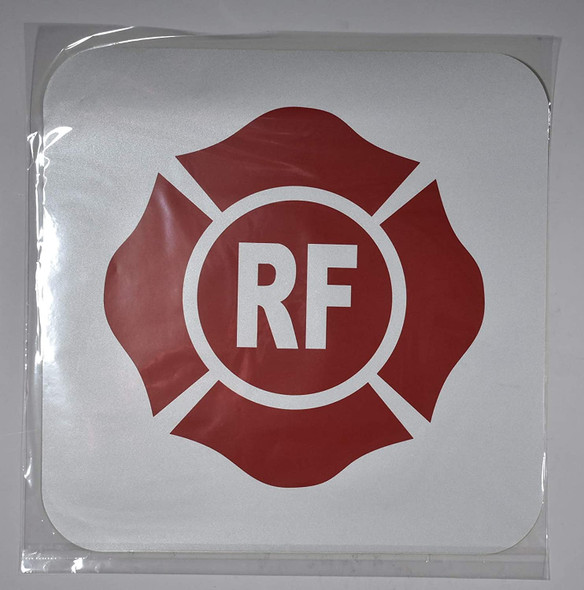 Florida Truss Construction Sign-RF (White,Reflective Sticker,Heavy