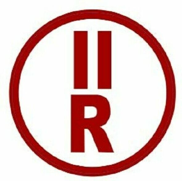 II-R Floor Truss Circular Sign (White,Reflective