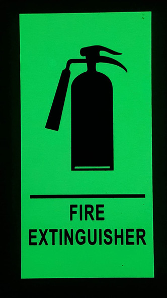 FIRE EXTINGUISHER Sign HEAVY DUTY /