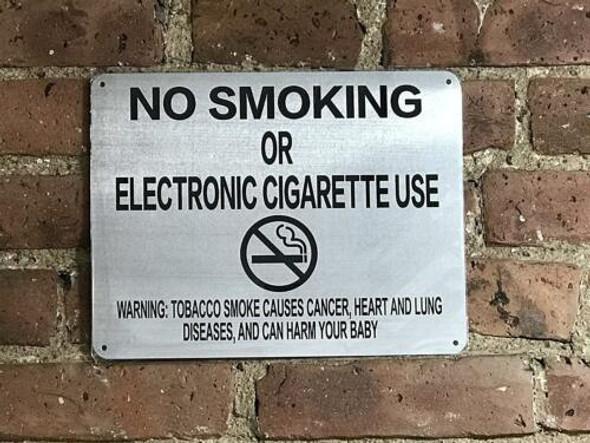 SIGNS LOT OF 5-NYC Smoke free Act