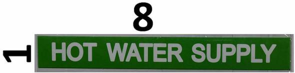 SIGNS Set of 5 PCS -HOT Water