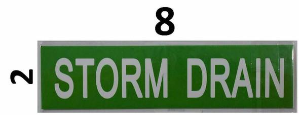 SIGNS Set of 5 PCS -Storm Drain