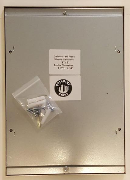 "SIGNS Elevator Notice frame 8.5"" x 11"""