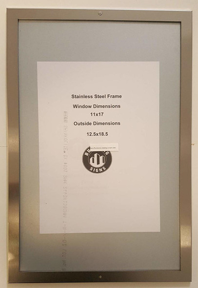 """ELEVATOR PICTURE FRAME 11"""" X 17"""""""