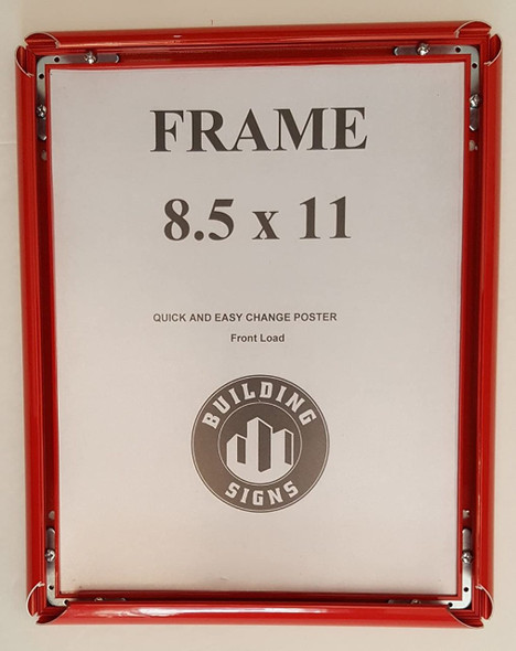 SIGNS Red Snap Poster Frame/ Picture Frame