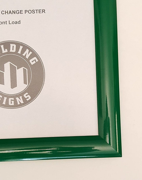 SIGNS Green Snap Poster Frame/Picture Frame/Notice Frame