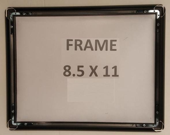 SIGNS Black Snap Poster Frame/Picture Frame/Notice Frame