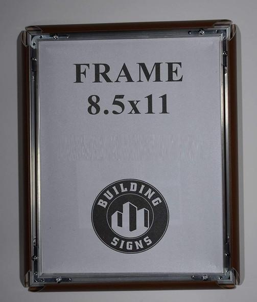 SIGNS brown Snap Poster Frame/Picture Frame/Notice Frame