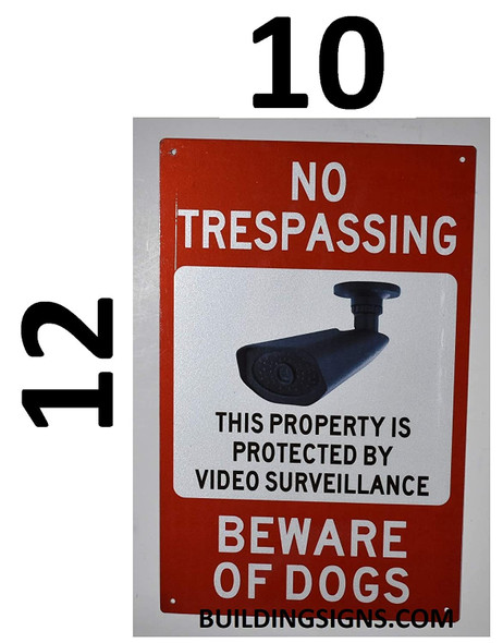 SIGNS NO TRESPASSING This Property is Protected