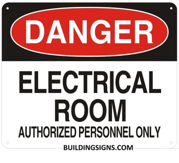 DESIGNATED ROOMS BUILDING SIGNS