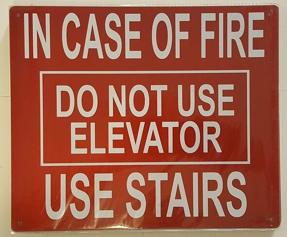 IN CASE FIRE DO NOT USE