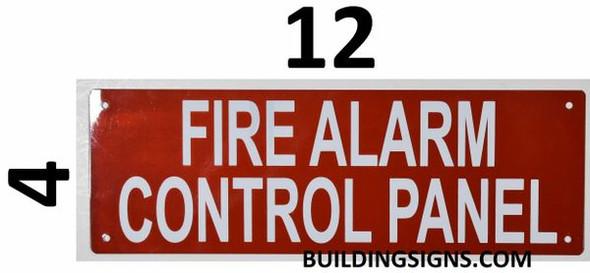 SIGNS FIRE ALARM CONTROL PANEL SIGN (Aluminium