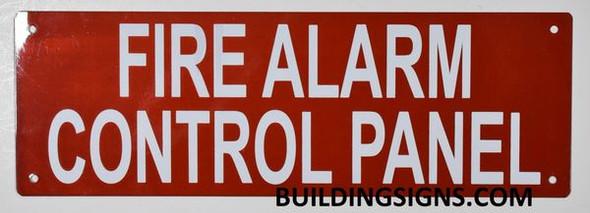 FIRE ALARM CONTROL PANEL SIGN (Aluminium