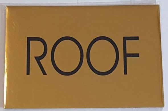 FLOOR NUMBER SIGN – ROOF SIGN