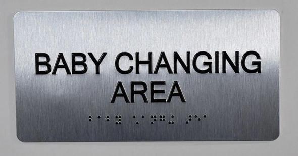 Baby Changing Area Sign ADA -Floor