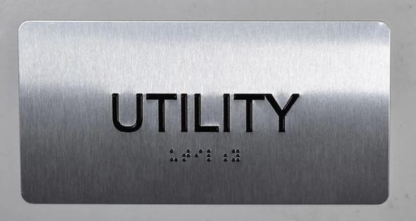 BUILDING MANAGEMENT SIGN-Utility