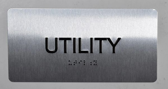 Utility Sign