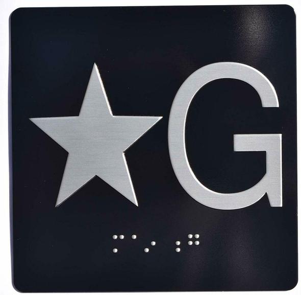 Star G (Star Ground) Elevator Jamb