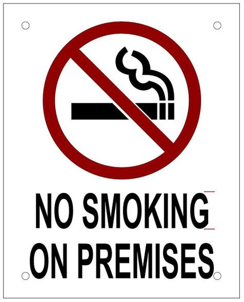 BUILDING MANAGEMENT SIGN-NO Smoking ON Premises