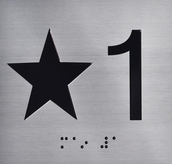 SIGNS Star 1 (Star 1ST) Elevator Jamb