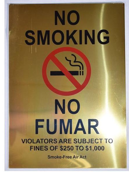 SIGNS NO SMOKING VIOLATORS ARE SUBJECT TO