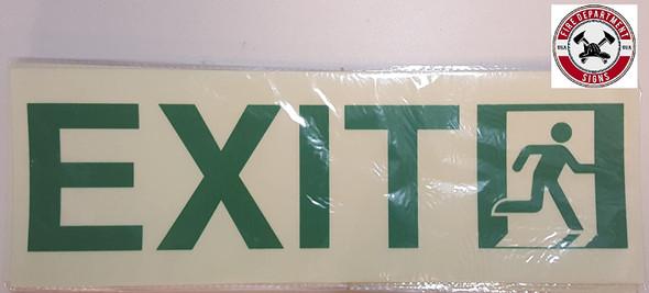 BUILDING MANAGEMENT SIGN-Exit